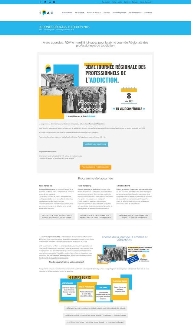 2PAO-wordpress-website-2021