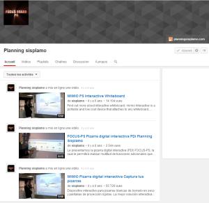 Planning sisplamo YouTube